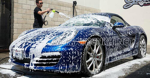 Cách sử dụng máy rửa xe cao áp
