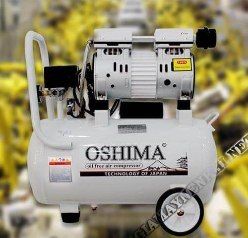 Máy nén không khí Oshima 9 lít có cấu tạo bền đẹp