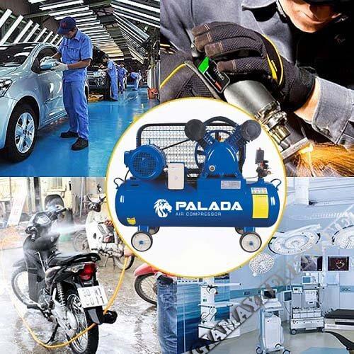 Thiết bị nén khí Palada được ứng dụng trong nhiều lĩnh vực