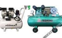 Phân biệt hai loại sản phẩm máy nén khí không dầu và có dầu