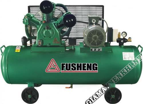 Máy nén khí Fusheng D – 4 cấu tạo 4 bánh xe di chuyển