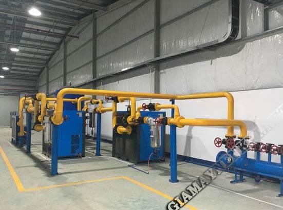 Thiết kế, thi công lắp đặt hệ thống khí nén như thế nào?