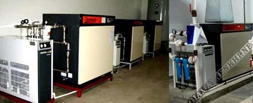 Lọc tách nước trong hệ thống máy nén khí công nghiệp