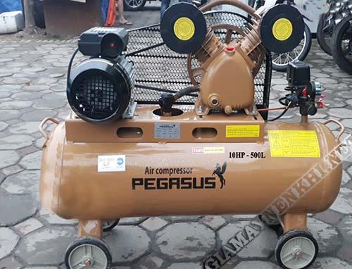 Thiết bị nén khí có công suất 10Hp dung tích 500 lít