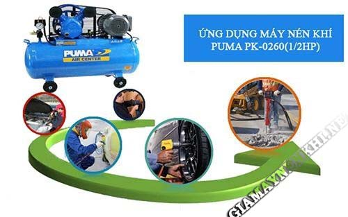Bật mí thông tin về máy nén khí Puma 1/2HP