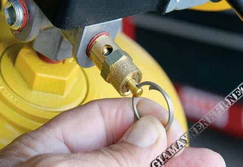 Sử dụng van an toàn tránh xảy ra sự cố