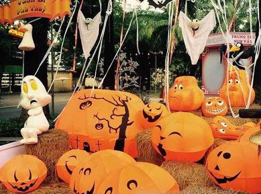 Lễ hội Halloween tổ chức ở đâu