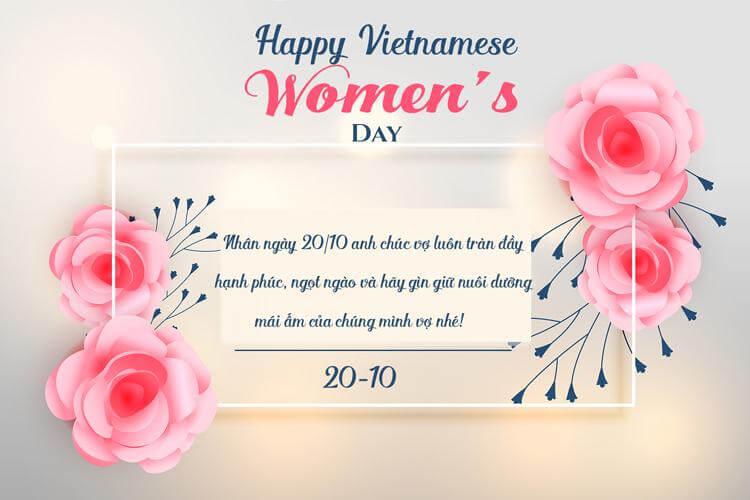 Những câu chúc Ngày Phụ nữ Việt Nam hay và ý nghĩa nhất