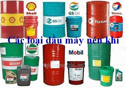 Nên dùng dầu gì phù hợp cho máy nén khí