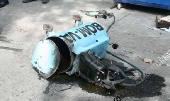 Máy bơm hơi cũ dễ trở thành quả bom bên cạnh bạn