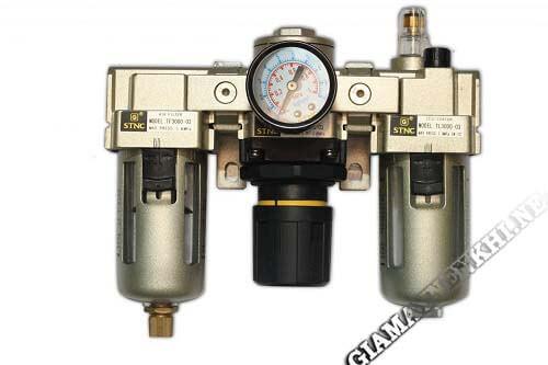 Bộ phận lọc khí của thiết bị máy nén khí công nghiệp
