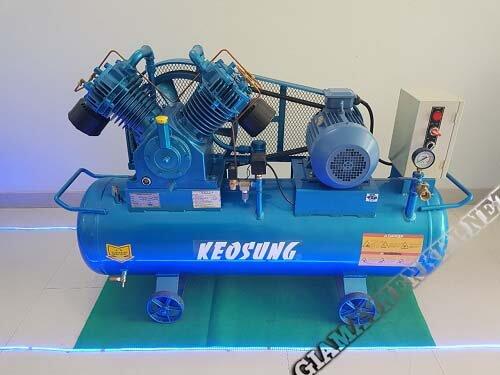 Máy nén không khí Keosung được nhập khẩu từ Hàn Quốc
