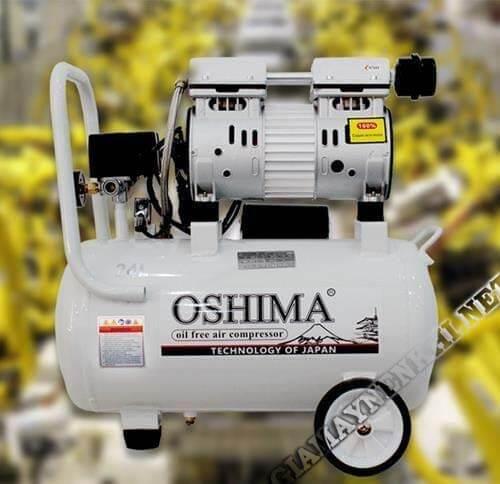 Sản phẩm của thương hiệu máy nén khí Oshima rất nổi tiếng và uy tín