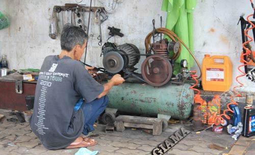 Sử dụng máy nén khí quá cũ không đảm bảo an toàn