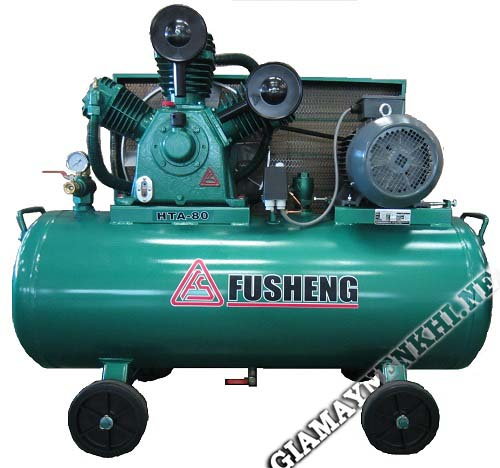 Máy nén khí thương hiệu Fusheng có hiệu suất làm việc cao