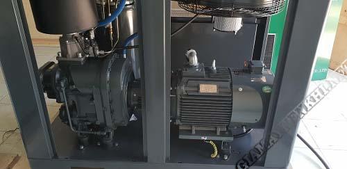Máy nén khí có hiệu suất đẳng nhiệt trong bộ phận tản nhiệt