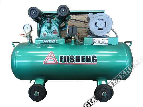 Máy nén khí có dầu hiệu Fusheng được nhiều người lựa chọn sử dụng
