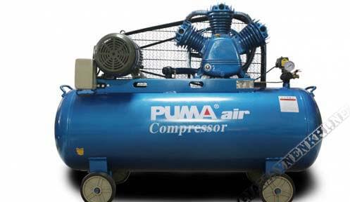 Máy nén 8kg Puma được sử dụng nhiều cho tiệm rửa xe nhỏ lẻ