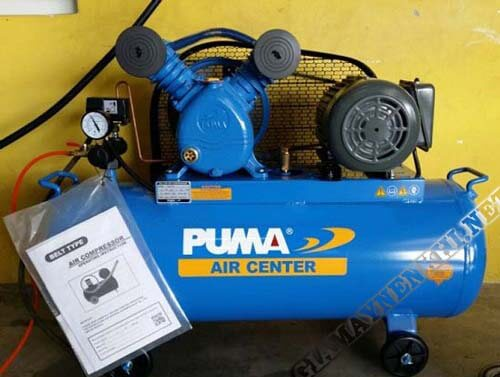 Tại sao gọi là máy bơm hơi 8kg Puma?