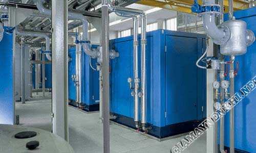 Hệ thống khí nén trong công nghiệp