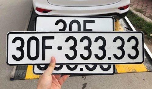 giải mã biển số xe