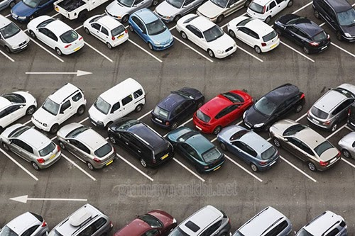 Kích thước bãi đỗ xe ô tô