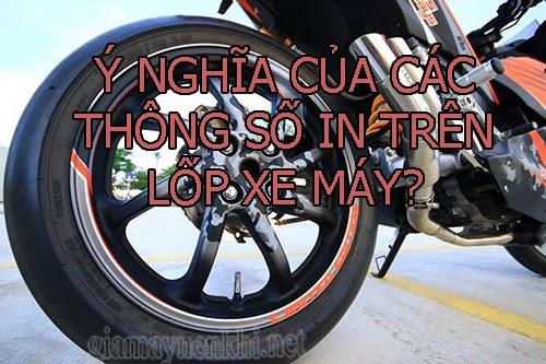 ý nghĩa thông số lốp xe máy