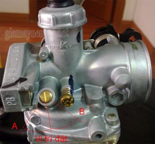 Hướng dẫn điều chỉnh bộ chế hoà khí xe máy