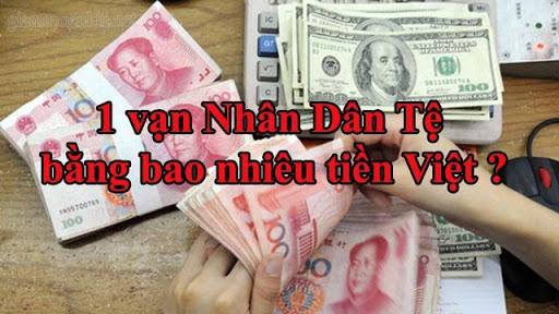 1 vạn Tệ bằng 33.780.000 đ Việt Nam