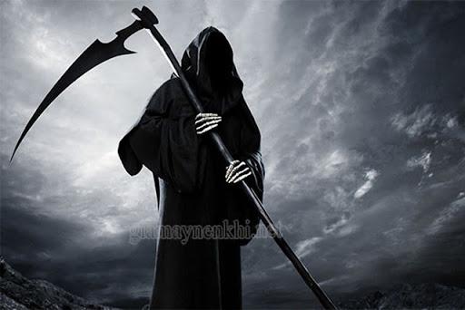 Thần chết trong lễ hội halloween