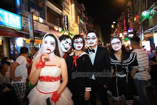 Halloween Chơi Gì Ở Sài Gòn