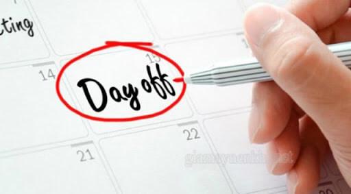 Một năm có bao nhiêu ngày phép?