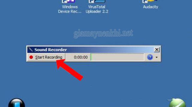 cách thu âm máy tính