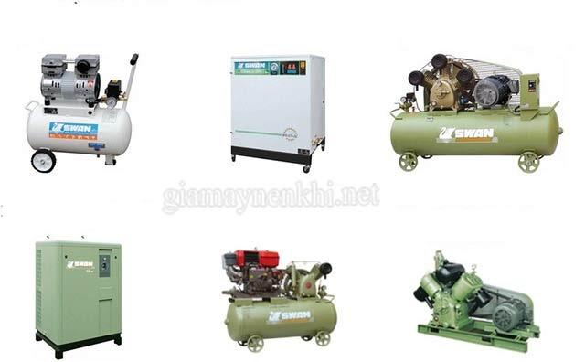 Có nhiều loại máy nén khí khác nhau