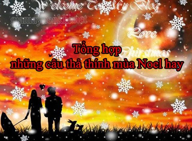 Thả thính Noel