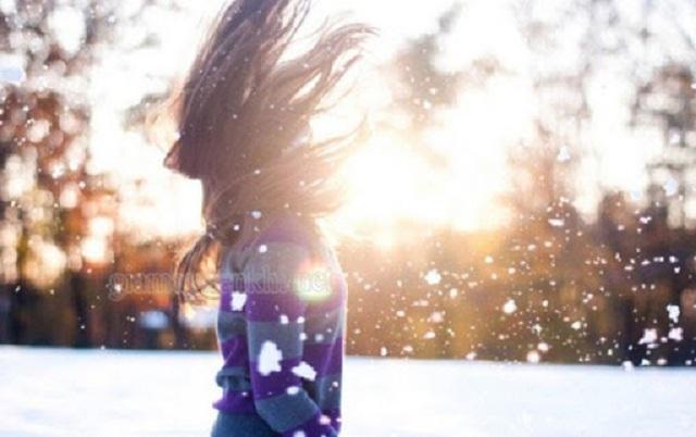 thả thính crush mùa đông