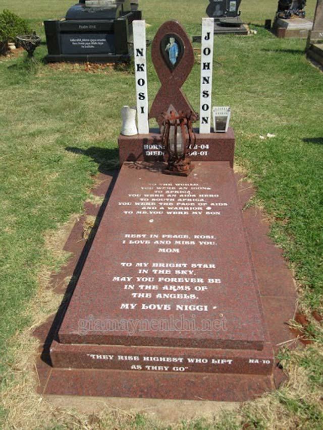 nkosi johnson cause of death