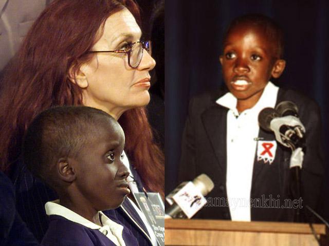 Gail Johnson mẹ nuôi Xolani Nkosi