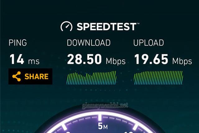 kiểm tra tốc độ đường truyền internet