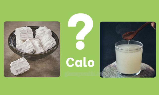 Hàm lượng calo trong bột sắn dây thấp chỉ khoảng 340 calo/ 100gr