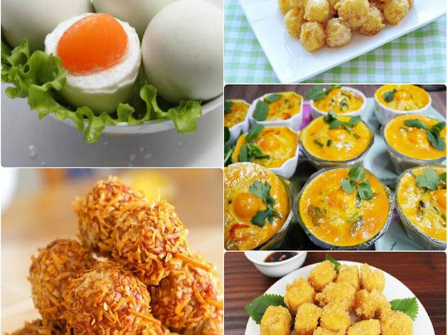 Tổng hợp các món ăn ngon từ trứng